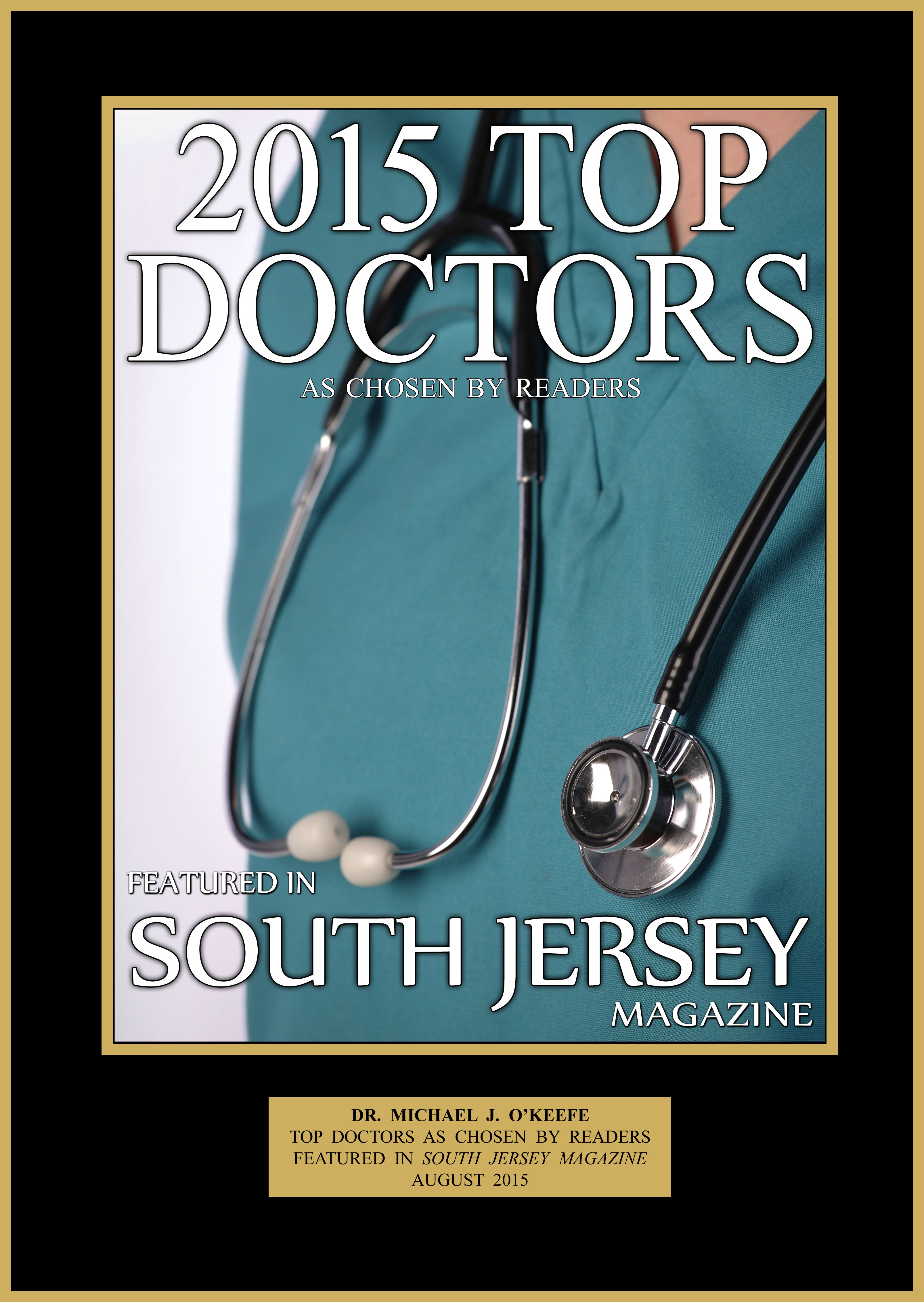 Dr. O'Keefe, South Jersey Top Physician